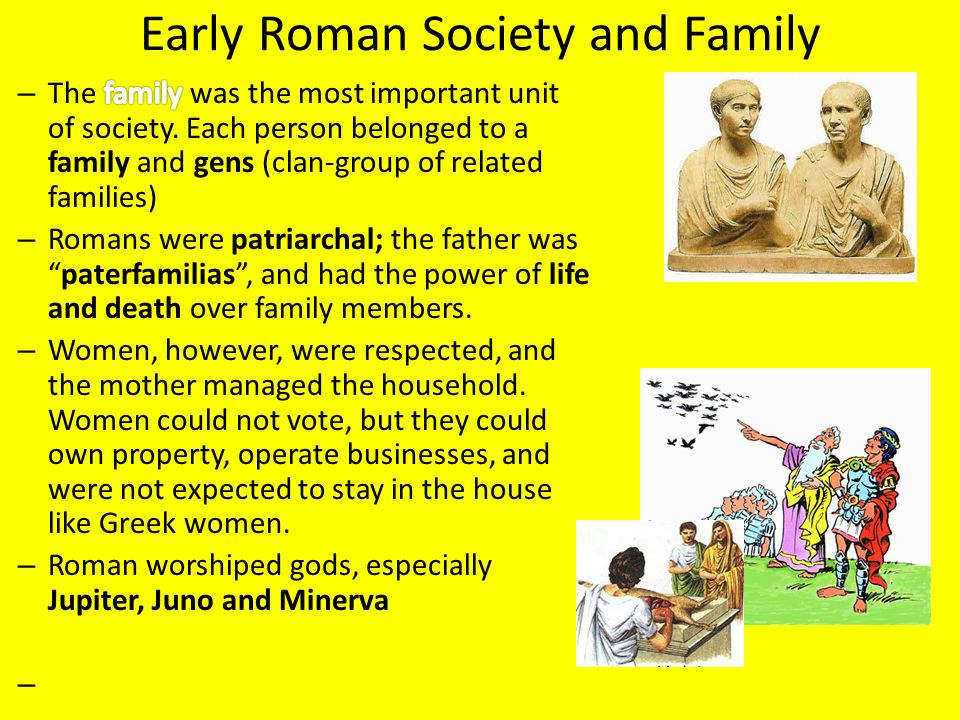 an analysis of the life of people in early rome Sexuality in ancient rome in early rome bearded man in the attire of a roman general when he is conceived of as the dignified father of the roman people.