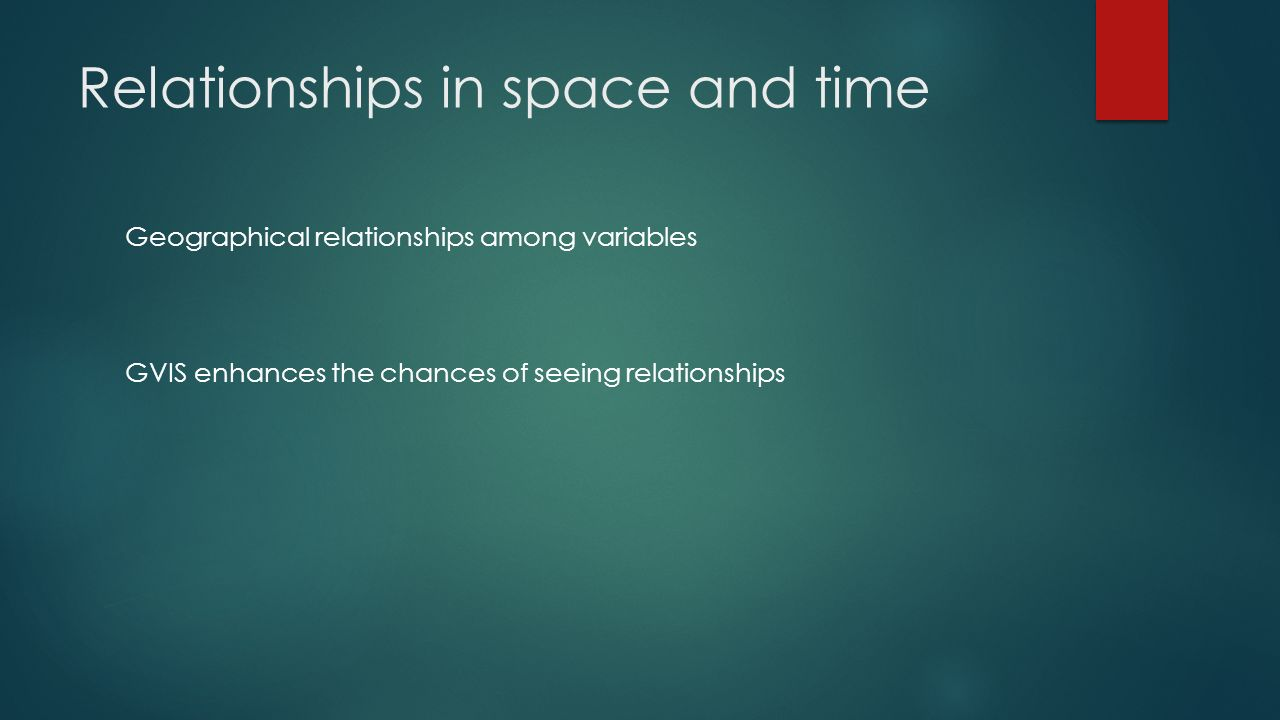 altering time and space relationship