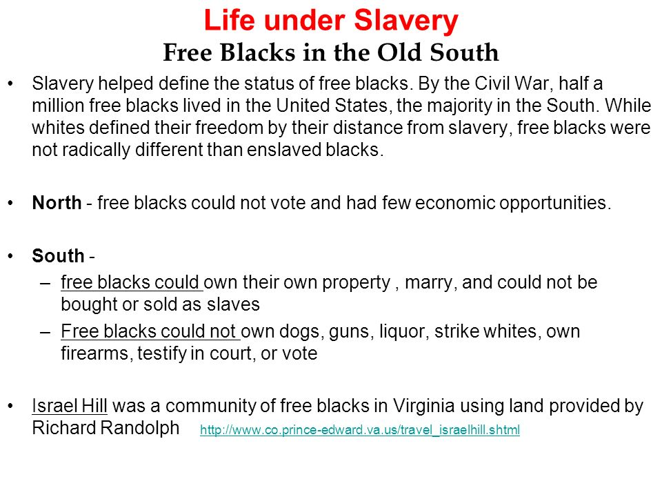 slavery differences between the upper and lower south Get an answer for 'upper and lower southcompare the economic systems of the upper and lower south in which region would slavery have died a natural death explain' and find homework help.
