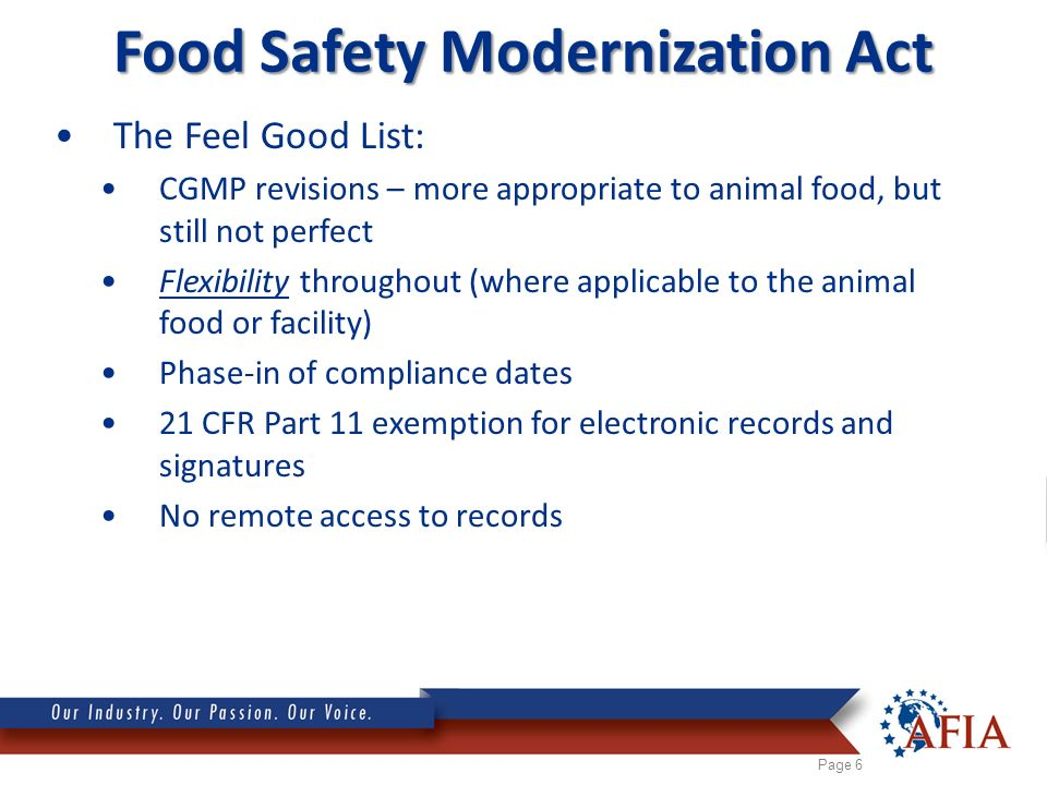food safety as determined by fsma Fsma wizard: determine your possible requirements the food safety modernization act (fsma) directed the us food and drug administration (us fda) to promulgate new rules to improve food safety protection domestically and internationally, as well as reduce the number of foodborne illness outbreaks.