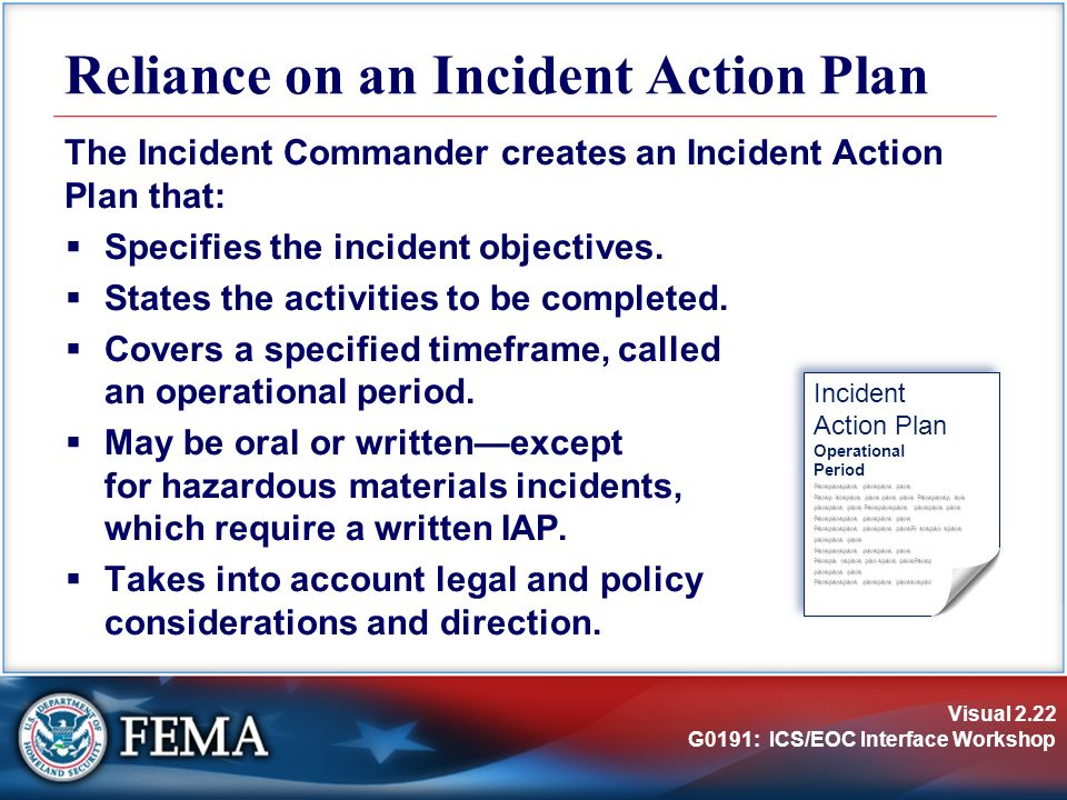 incident action plan template 8459320