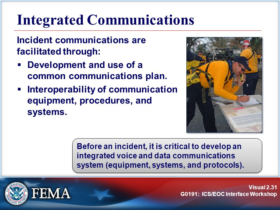 Data Communication System : Unit incident command system ics review ppt video