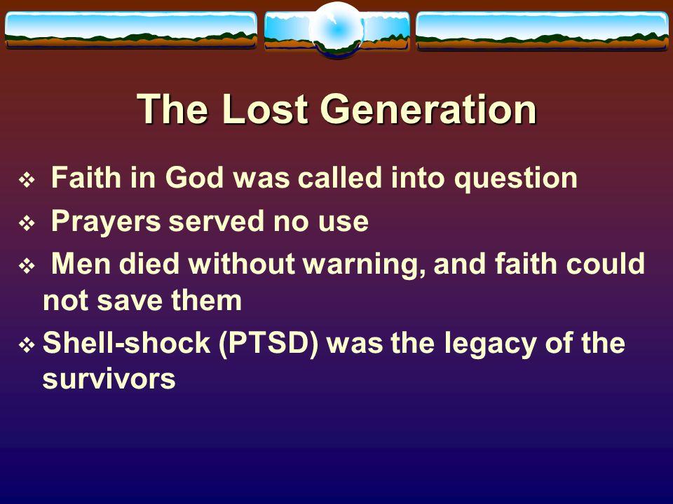 "how i lost faith god Home page » study topics » christianity » how do you build real faith  faith in god is listed as  ""faith in a holy cause is a substitute for the lost faith ."