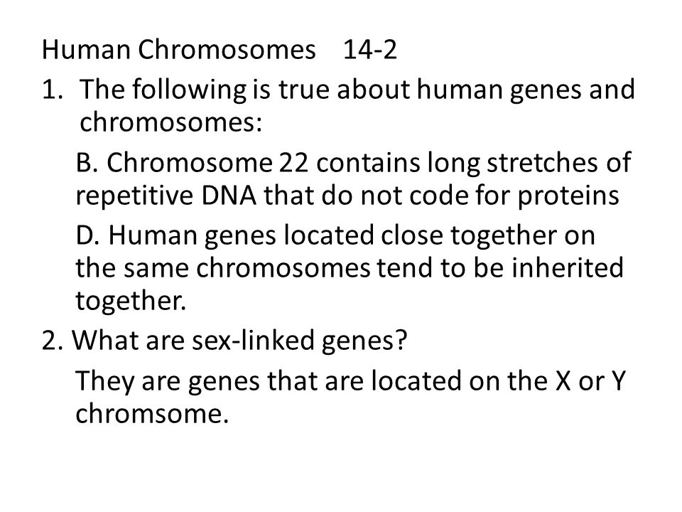 Which chromosome contains sex-linked genes Nude Photos 62