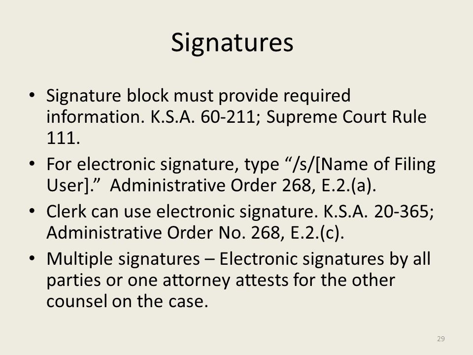 how to add electronic signature block to pdf