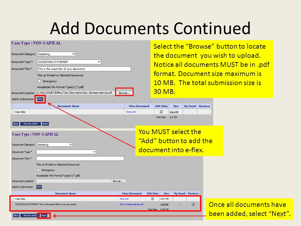 add all document to pdf format