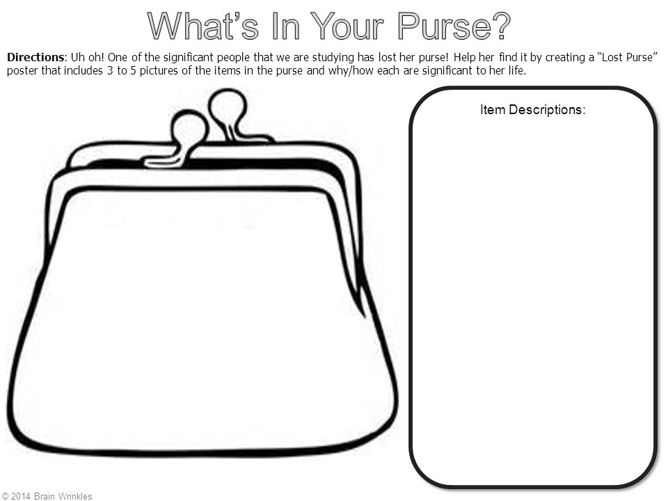 how to find a lost purse