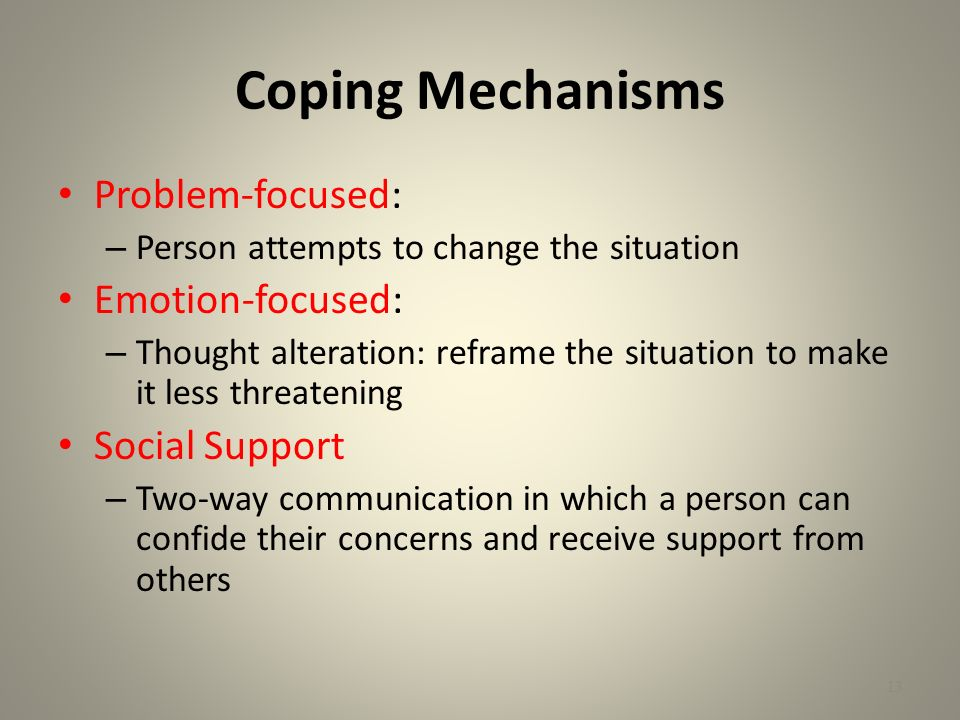 Coping (psychology)