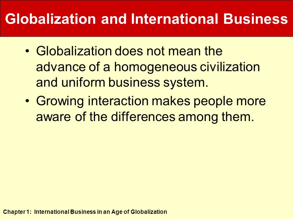 globalisation homogenous Open access peer-reviewed chapter globalization and culture: the three h scenarios by abderrahman hassi and giovanna storti submitted: december 18th 2011reviewed: march 22nd 2012published: august 22nd 2012 doi: 105772/45655 home books globalization downloaded: 8934 1 1 citation on.