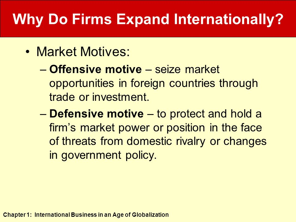 how and why do companies engage in international business An international business company or international preservation of confidentiality of the beneficial owner of the company wide corporate powers to engage in.