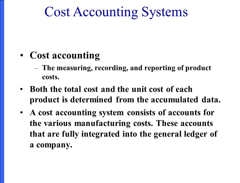 job order cost system chapter 16 principles of accounting
