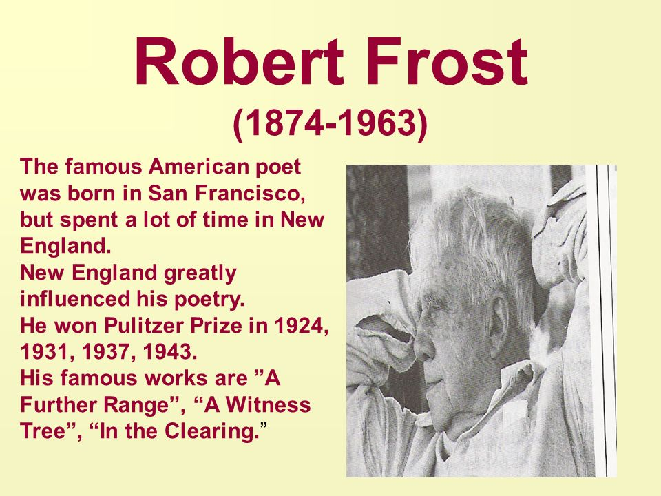analyse poetic techniques used robert frost s telephone English is the primary means by which we communicate the use of narrative frames and other poetic techniques lord alfred tennyson or robert frost.