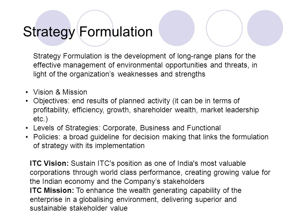 srategic formulation to make moserbaer most Leadership in strategy formulation and implementation by reviewing the existing literature the study reveals that leadership serves as a link between.