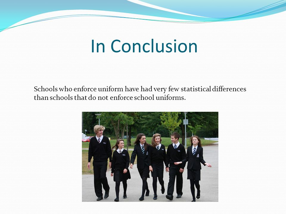 should school uniforms be compulsory essay - school uniforms should be mandatory a uniform is a standard set of clothes that is worn by a group of people these people may be members of an organization or a group of people having the same ideas.