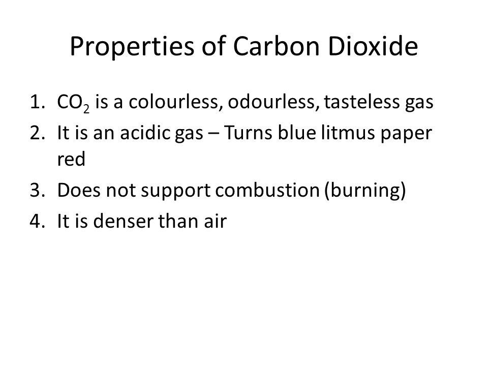 Carbon dioxide research paper