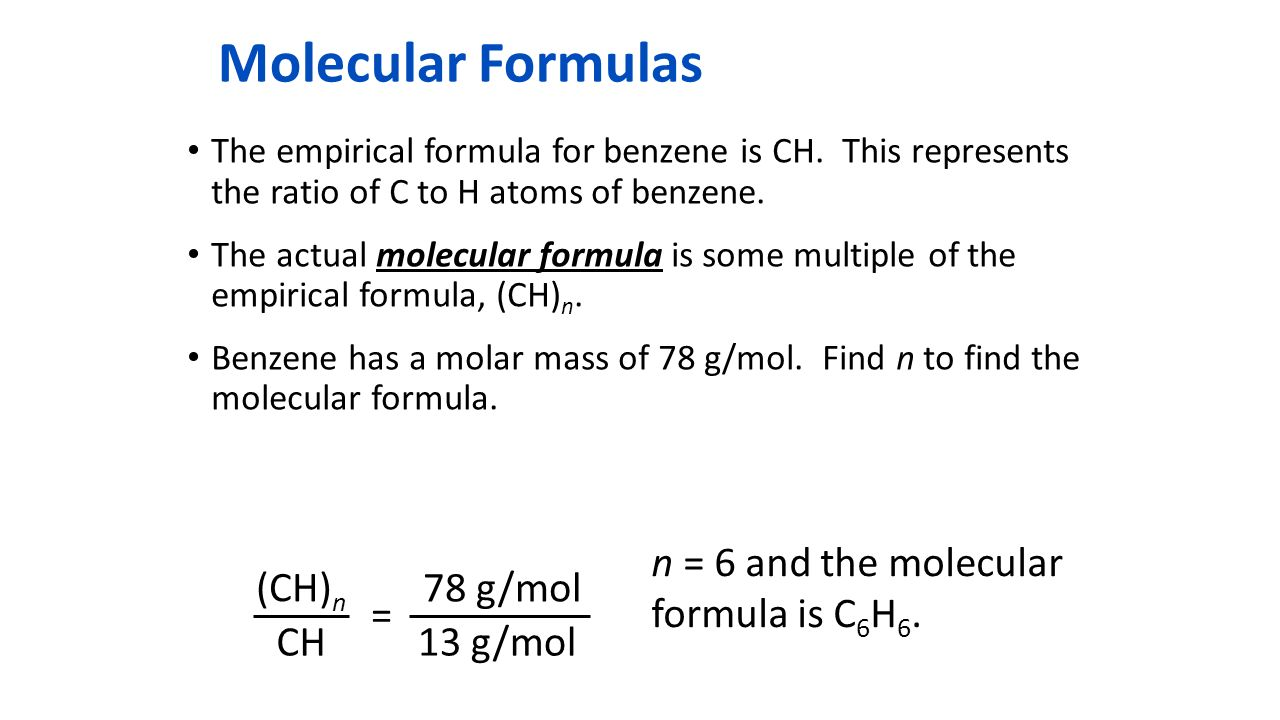 Calculating Empirical Formulas - ppt download