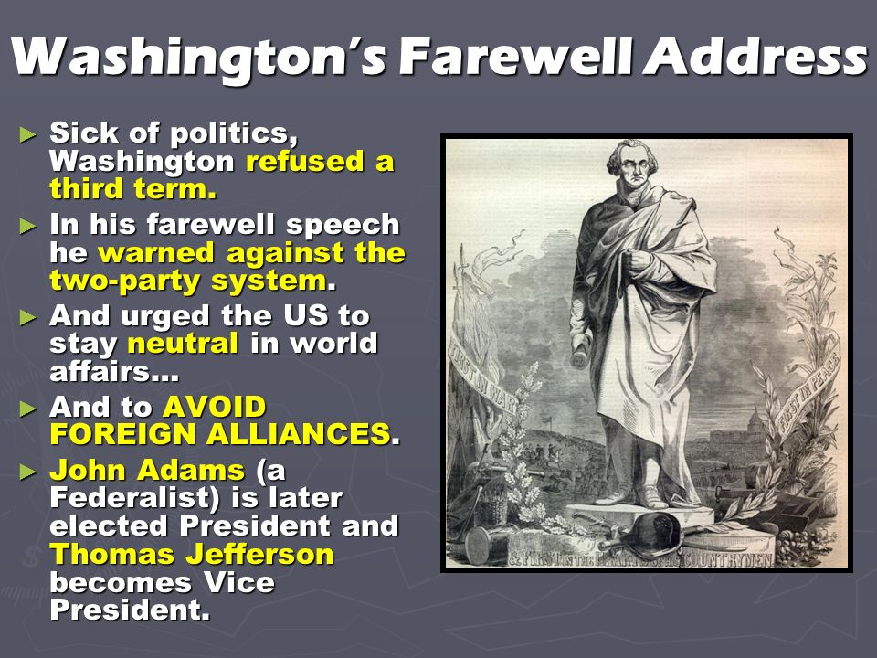 washington farewell address