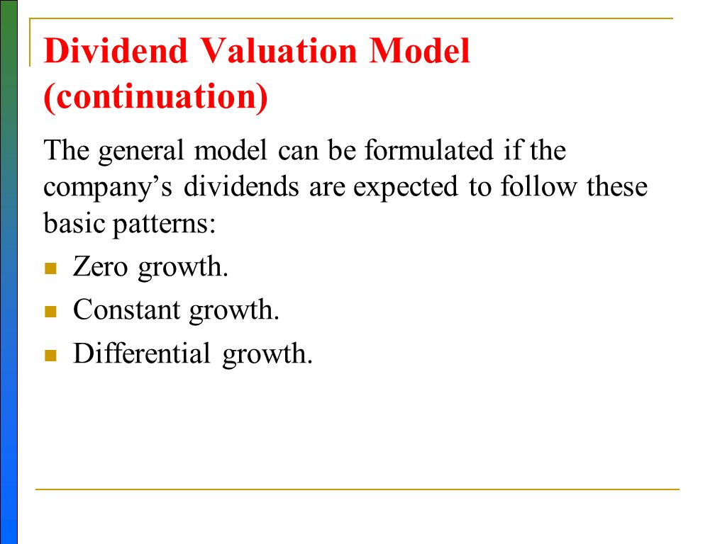 hog dividend valuation model My strategy lab model dividend portfolio is proof of that  one thing i want to  stress: the yield hog dividend growth portfolio isn't meant to be.