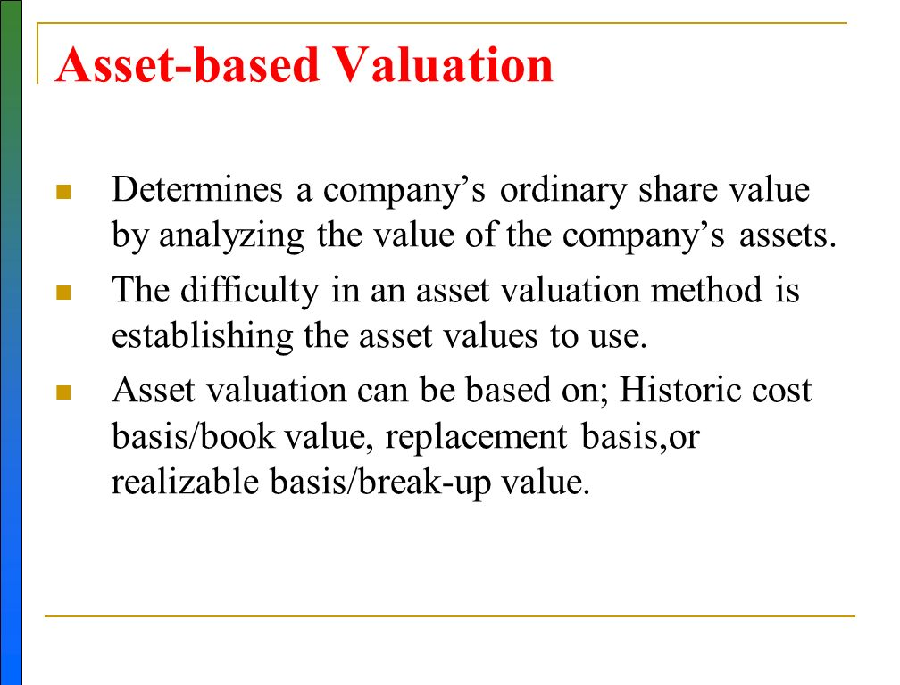 valuation of company assets south gobi 40+ unique microsoft excel based templates download our practical excel business valuation, fixed asset register, loan calculation and loan statement templates on this page.