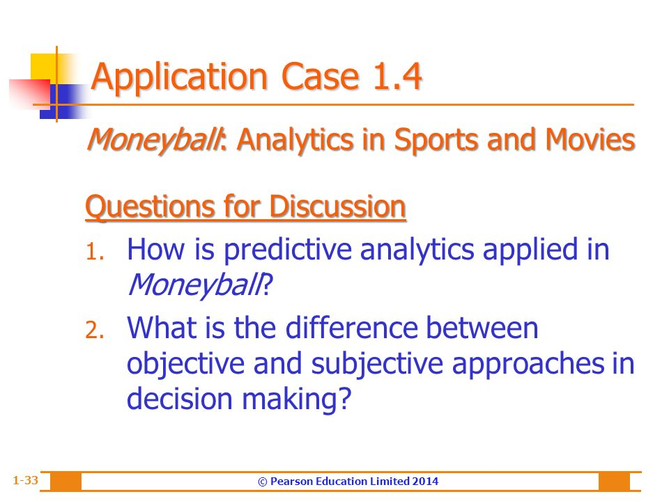 """case analysis moneyball The """"sabermetrics"""" approach to empirical analysis that oakland a's  the  advent of moneyball was clearly a breakthrough for general."""