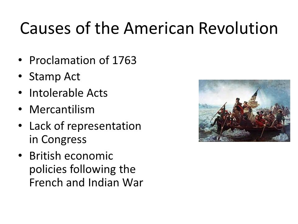the economic reasons for american independence In this lesson, we explore the causes and the initial battles of the american revolution, from the end of the french and indian war up until the.