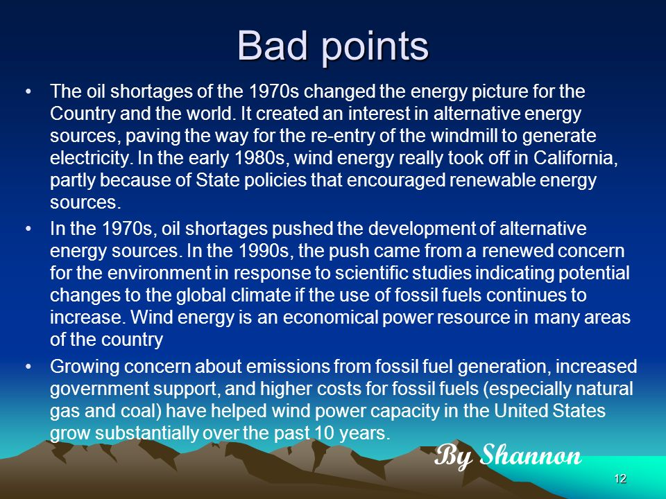 Natural Gas Good And Bad Points