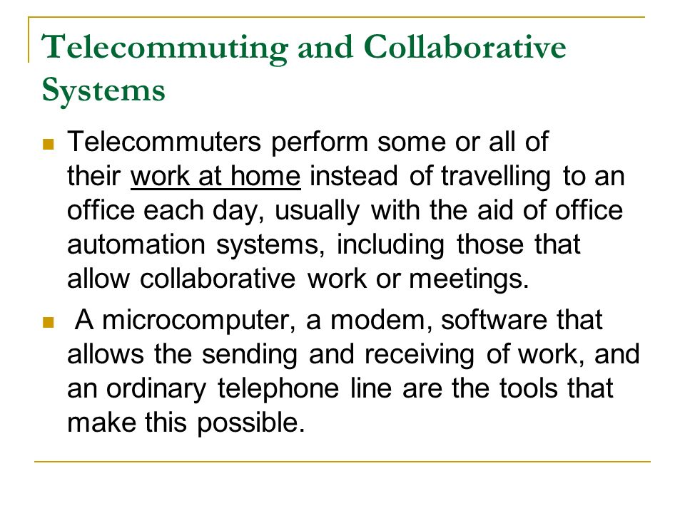 office automation and group collaboration software Office automation and group collaboration free essay, term paper and book report introduction the company i work for allows members to be organized and efficient the secretarial duties are minimized thanks to the office automation and group collaboration software that the company offers.