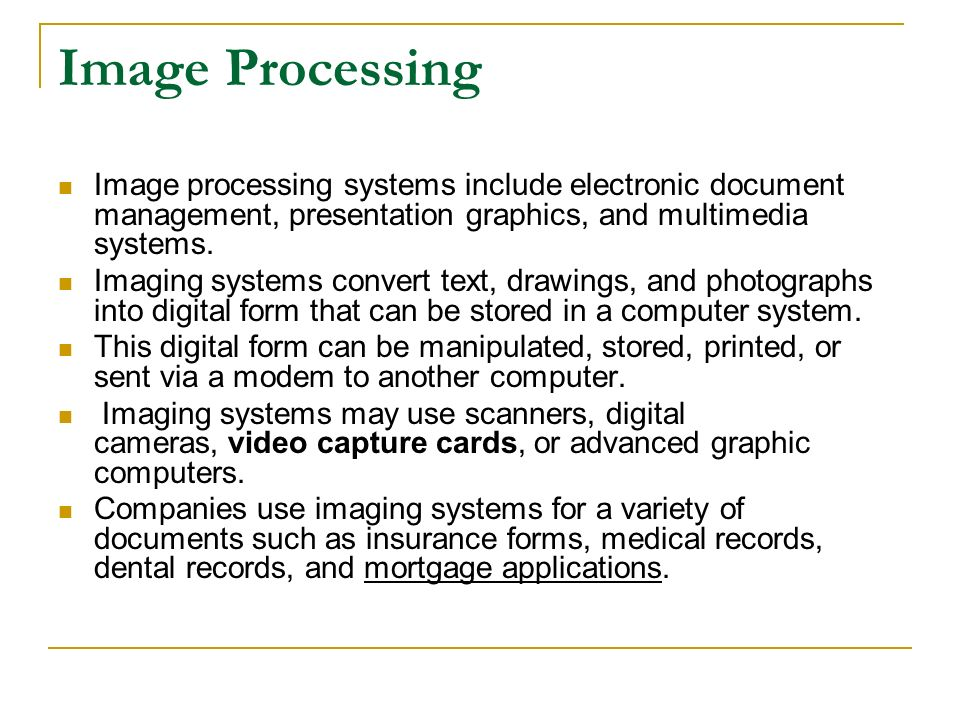 Kinds Of Information Systems Ppt Download