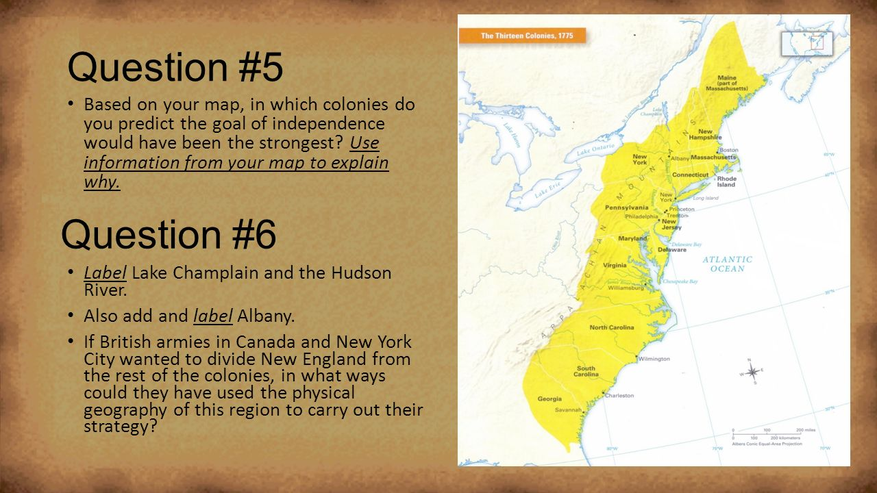 Geography Of Colonial America Ppt Video Online Download - Georgia map label