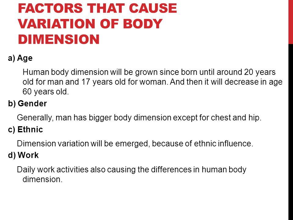 body dimension