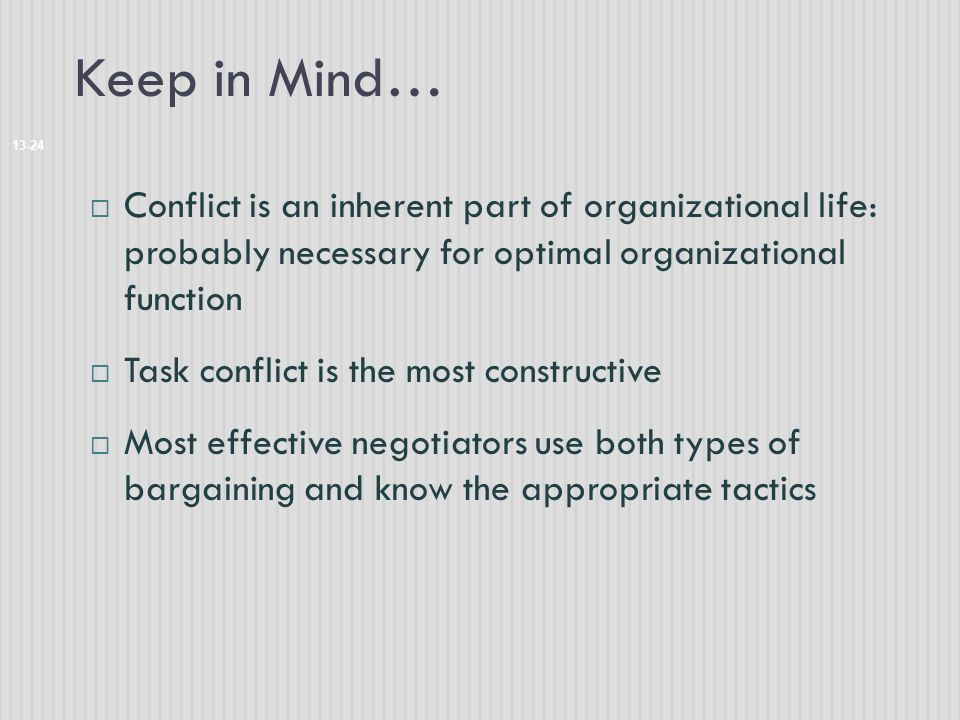 use of conflict in life of Otherwise resolving the external conflict is a mere technical matter, like  life is  a series of decisions - each of which is in itself a conflict.