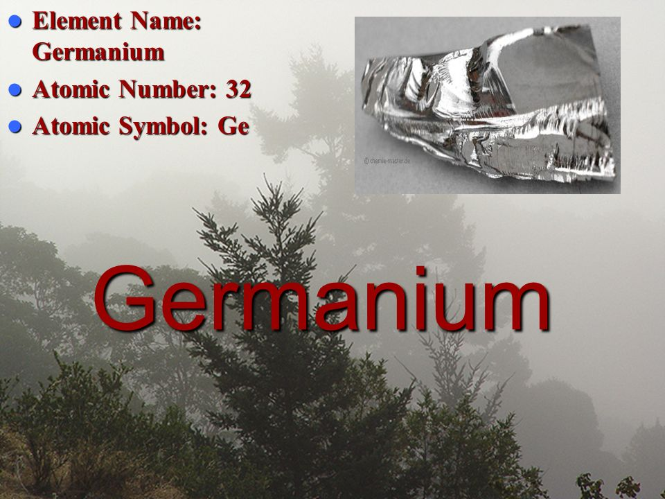 Element Name Germanium Ppt Video Online Download