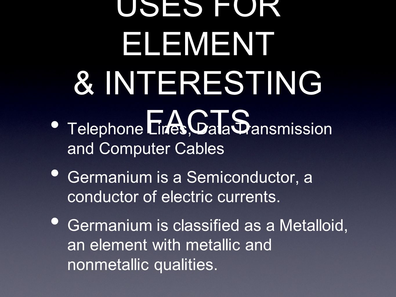 Interesting facts about germanium the best fact in 2017 best 25 periodic table ideas on chemistry gamestrikefo Image collections