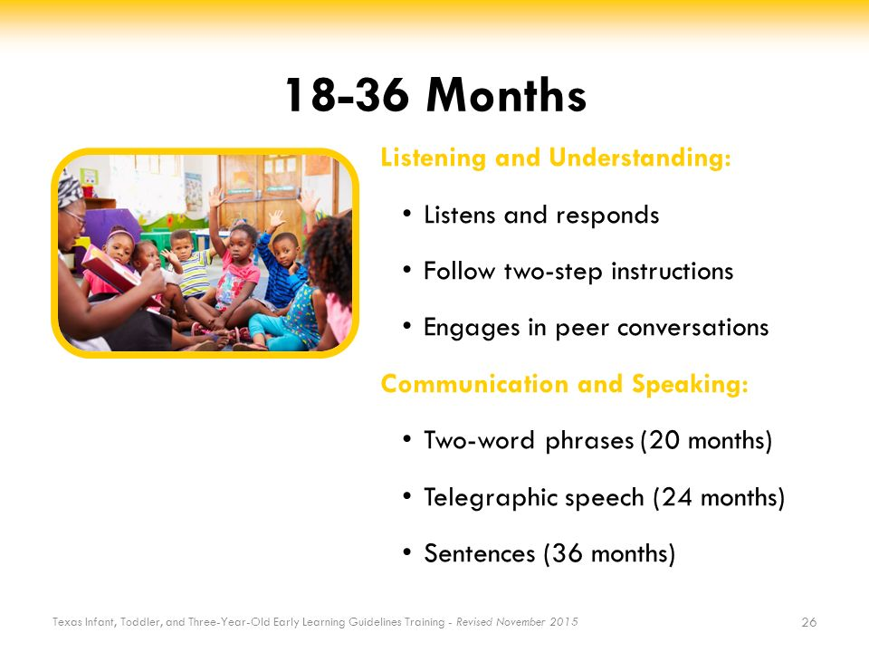 Language And Communication Development - Ppt Download