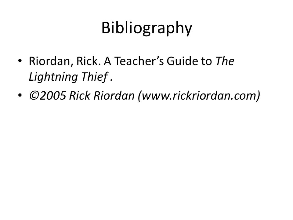 the lightning thief chapter ppt video online download