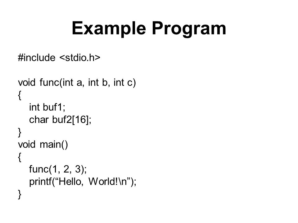examples of c programming on stacks Stacks and queues an array is a random access data structure, where each element can be accessed directly and in constant time a typical illustration of random.