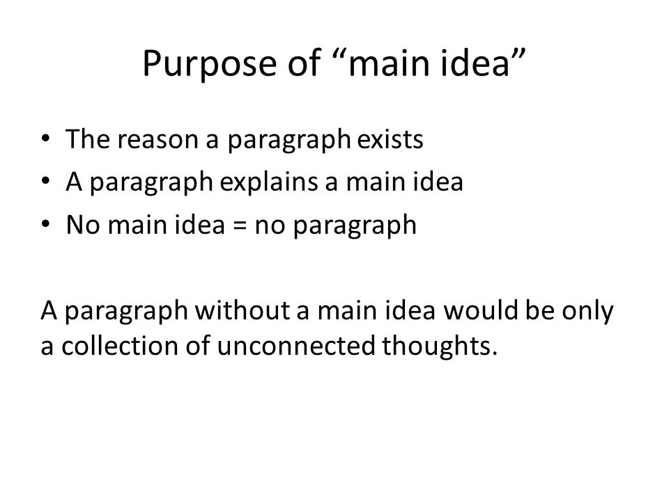 how to add extra ideas to a paragraph