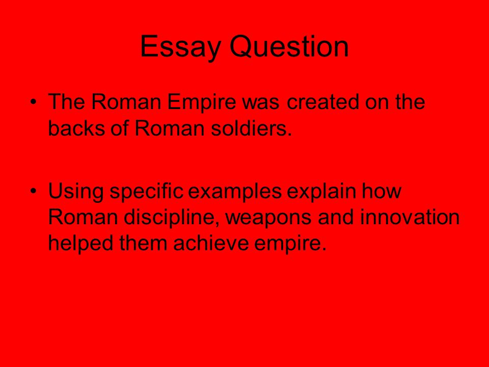 r ier daily life ppt 2 essay question the r empire