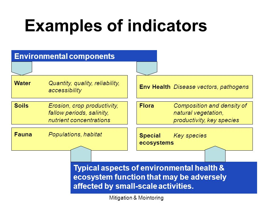 Environmental mitigation and monitoring ppt video online for Soil quality indicators