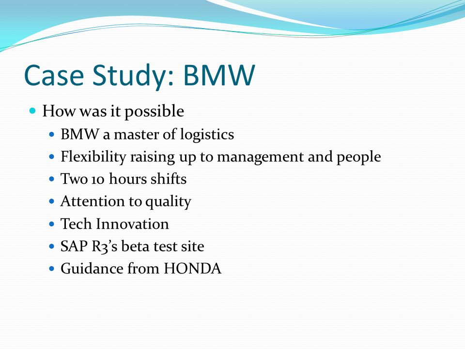 case study productions and operations management Mcdonald's fulfills the 10 strategic decisions areas of operations management for high productivity as shown in this case study and analysis on the company.