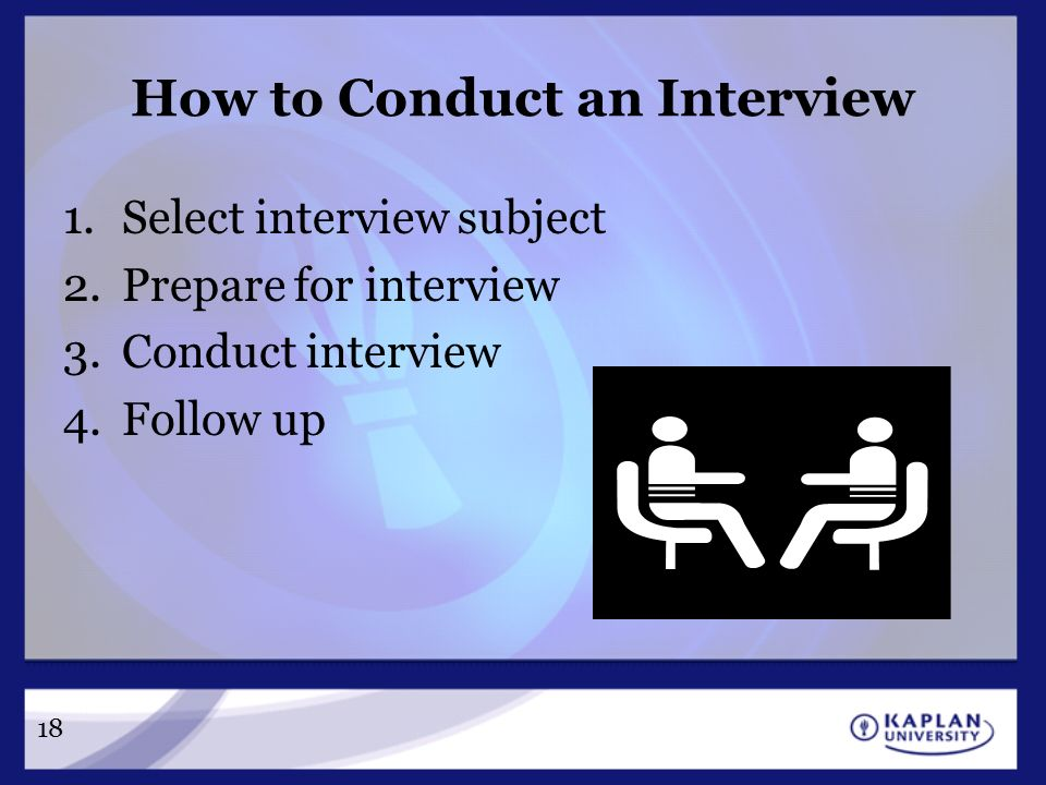 how to conduct walk in interview