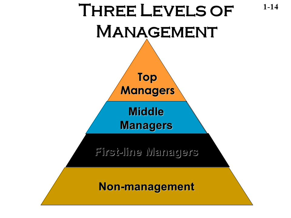 three levels of management Within an organisation, management are normally divided into three different  levels: strategic, tactical and operational these three levels of.