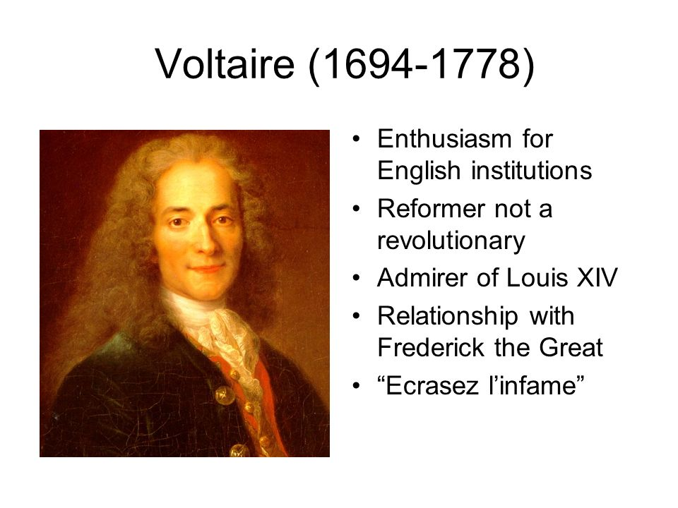 voltaire and frederick relationship