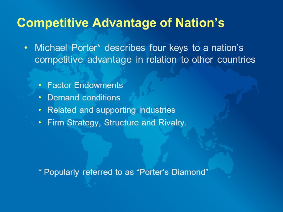 michael porter s analysis of first national bank First national bank - case analysis - free download as word doc (doc), pdf file (pdf), text file (txt) or read online for free an analysis for the course of action in which first national bank should take to improve their customer reach.