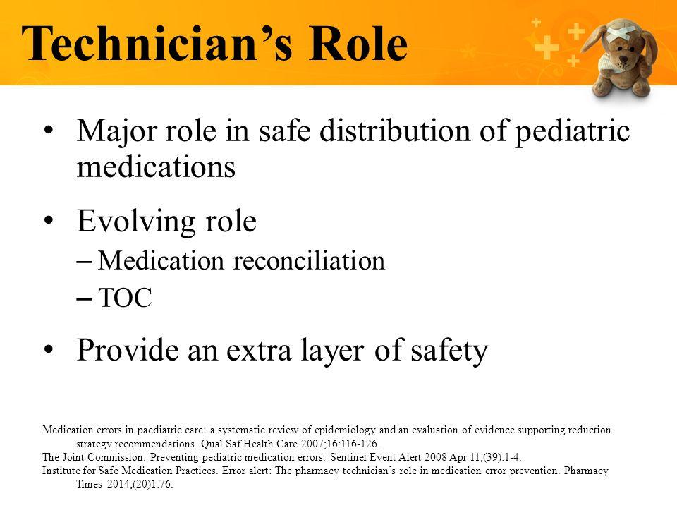 Pharmacy Interventions To Improve Pediatric Medication