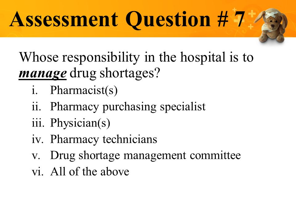 PHARMACY INTERVENTIONS TO IMPROVE PEDIATRIC MEDICATION SAFETY – Responsibility of a Pharmacist