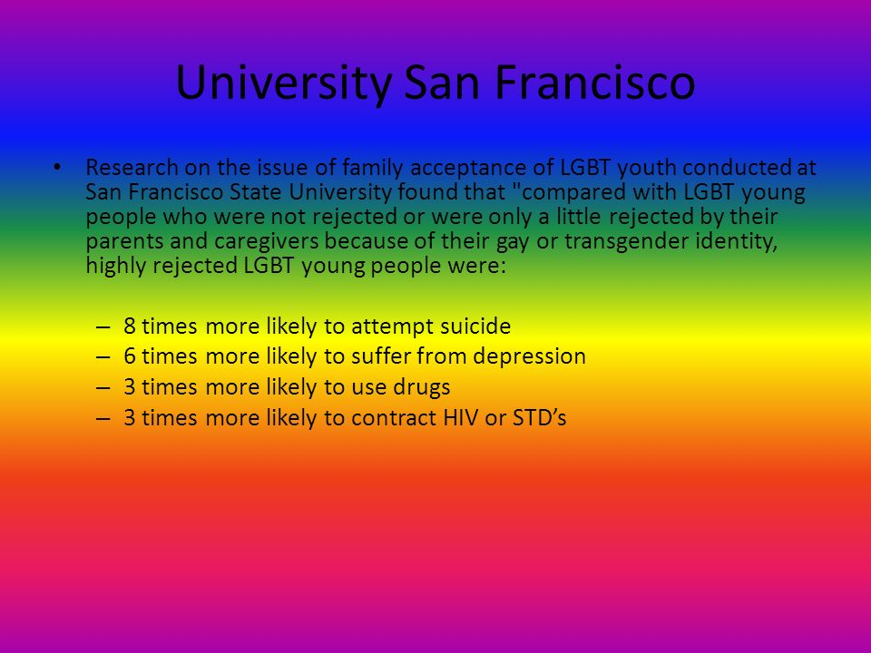university of san francisco acceptance essay