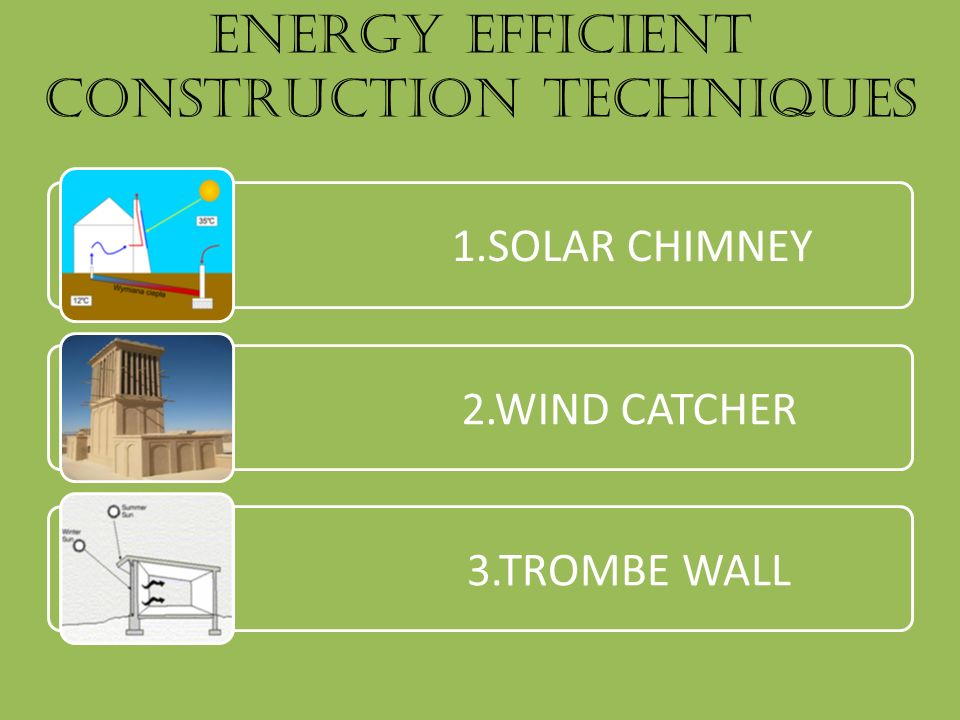 improving energy efficiency in new buildings construction essay Focuses on retrofits of existing buildings, the new technology and experience from new building construction processes will spill over to thermal retrofits, reducing their costs and improving energy.