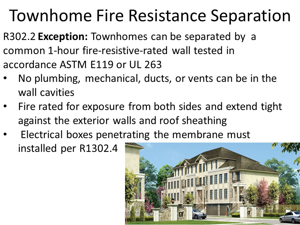 Hour Fire Rated Building Separation Wall
