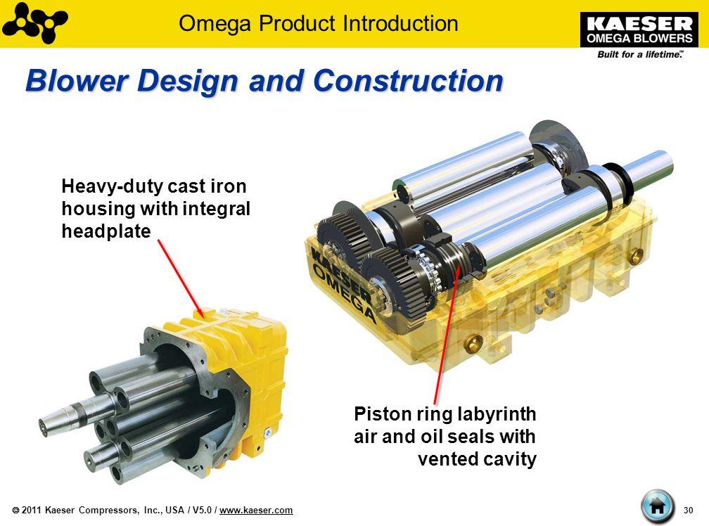 Oil Blower Impeller Housing : Kaeser omega blowers and blower packages ppt download